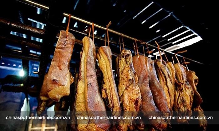 Món thịt phơi gió chế biến lâu nhất thế giới