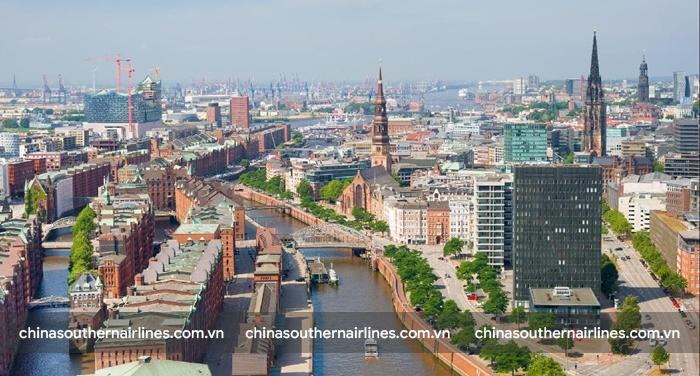 Hamburg, thương cảng lớn nhất nước Đức