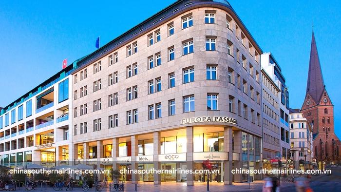 Europa-Passage, trung tâm mua sắm sang trọng nhất nước Đức