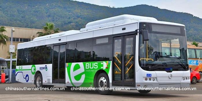 Thâm Quyến có 16.000 xe bus chạy điện thuận tiện cho du khách