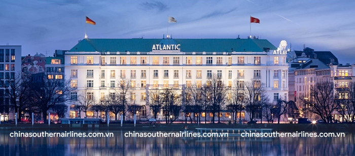 Atlantic Kempinski Hotel, khách sạn 5 sao ở trung tâm thành phố