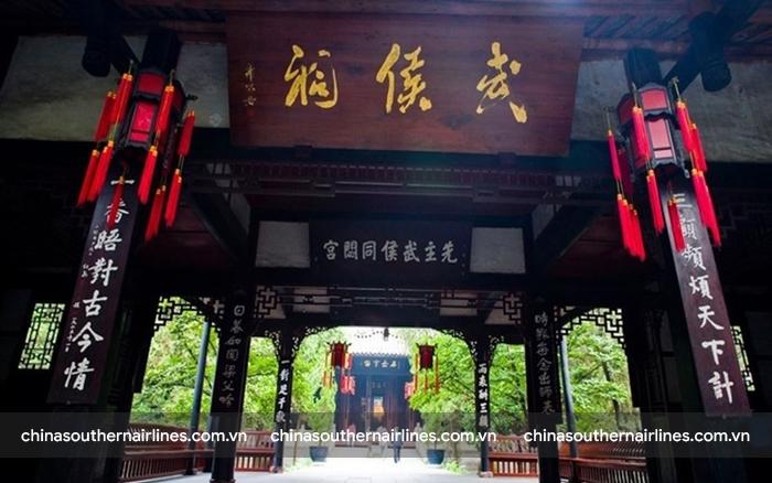 Vũ Hầu Tự - nơi thờ Lưu Bị và các vị tướng nhà Thục Hán xưa