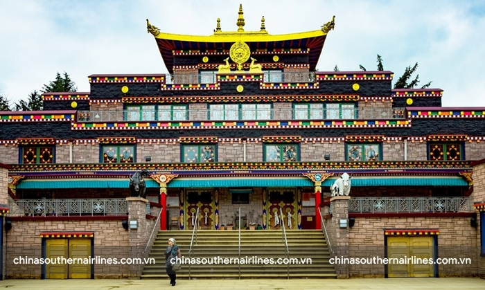 Samye - tu viện đầu tiên ở Tây Tạng