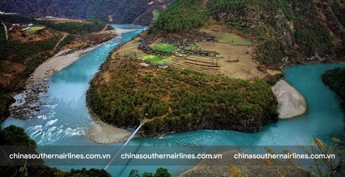 Hẻm núi ở Châu tự trị Nộ Giang