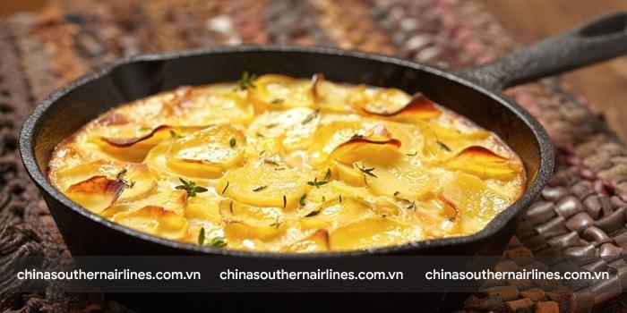 Old Milk Potato - món khoai tây nghiền đặc biệt ở Côn Minh