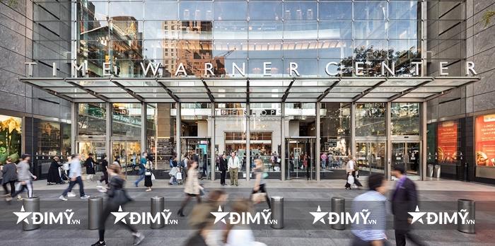Times Warner - địa chỉ mua sắm được yêu thích bậc nhất ở New York