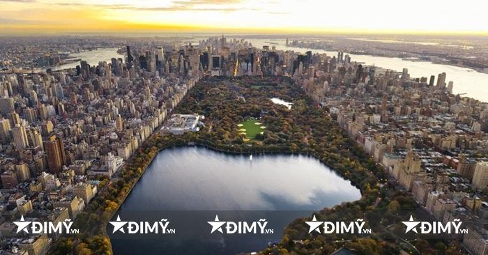 Công viên trung tâm, lá phổi xanh ở New York