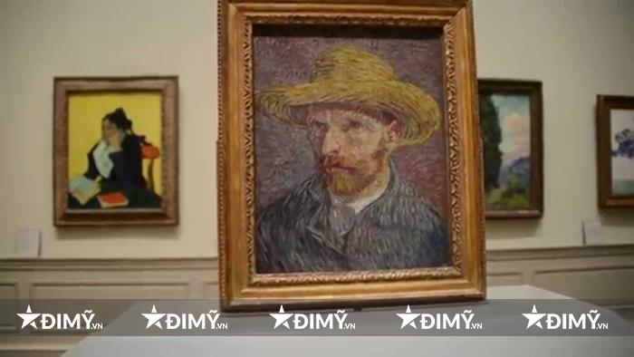 Bức tranh của thiên tài Van Gogh cũng được trưng bày tại Bảo tàng nghệ thuật Metropolitan