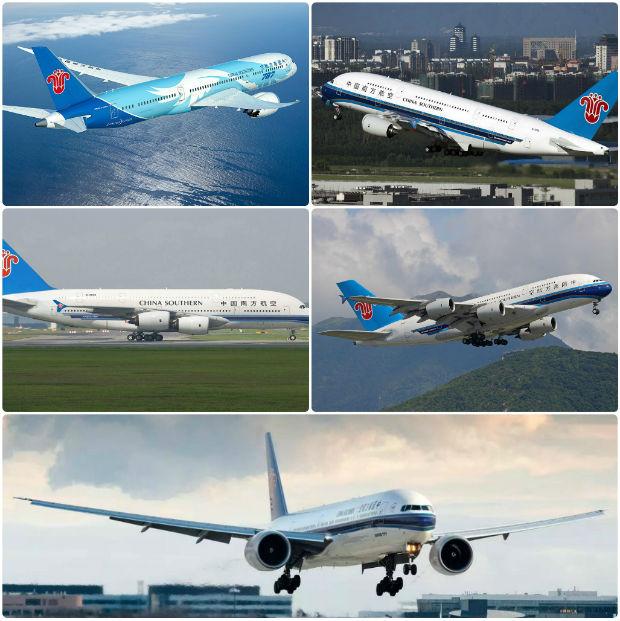 Quy mô đội bay hiện đại của China Southern Airlines