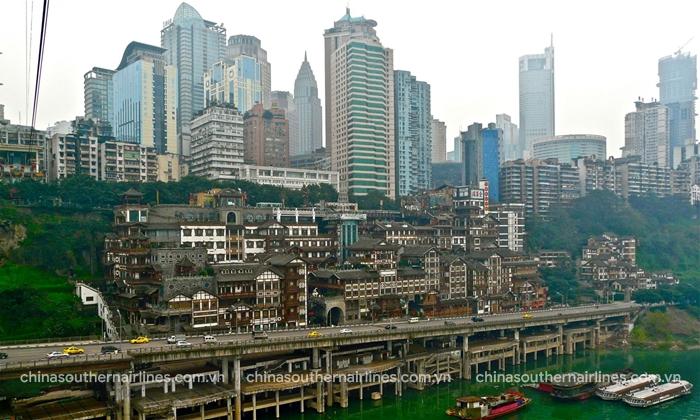 Giao thông khó hiểu và phức tạp ở Trùng Khánh