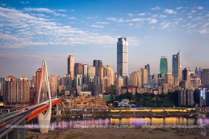 Sự phát triển mạnh mẽ của đô thị trẻ Trùng Khánh