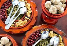 Salad trà xanh Myanmar