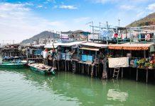Nét bình dị ở làng chài Tai O